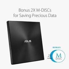 Asus Zen Drive 2 externer Ultra SLIM DVD Brenner + inkl. 2 M-Disk Rohlinge