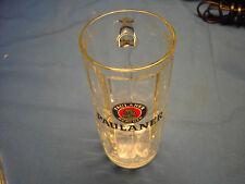 PAULANER  MUNCHEN 0.5L  Glass Beer Mug In Good Condition