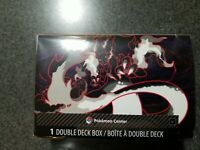 New Pokemon Center TCG Gigantamax Charizard VMAX Double Deck Box Exclusive Black