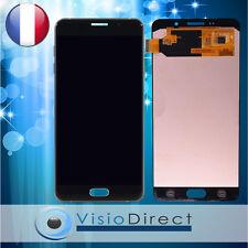 Ecran complet pour Samsung Galaxy A7 2016 SM-A710F noir vitre tactile+ecran LCD