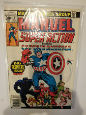Captain America #1 Comic, Marvel Super Action (9.4-9.6)