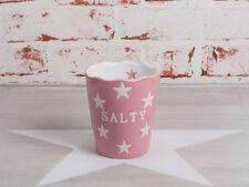 Krasilnikoff Salzstangen Becher Salty pink Sterne weiß Stern rosa Keramik