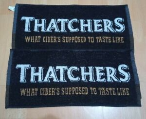 Thatchers ' What Cider's Supposed To Taste Like ' Bar Towel X 2