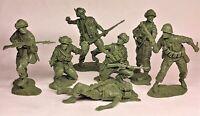Plastic Platoon Vietnam War US Marines Rubber material 1/32 Set#1 7pcs