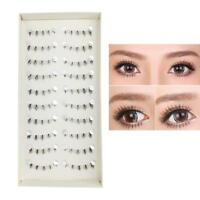 10 Pairs Handmade Lower Under Bottom Natural Fake False Eyelashes Eye-Lashes