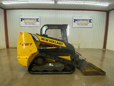 2017 New Holland C227 Orops Compact Track Loader With Manual Quick Attach
