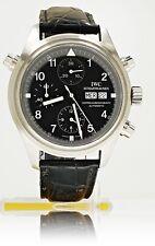 IWC Pilot Flieger Doppel Chronograph Rattrapante Ref IW3713 aus 2005