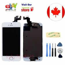 White LCD  Screen Digitizer with Camera & HomeButton Replacement for iPhone 5S