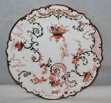 "Royal Crown Derby - Flower Horn, 3720, rd. 204893 - 8 1/2"" dessert plate - 1895"