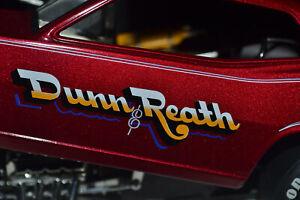 1/24 1320 The Floppers #1203 Funny Car Dunn & Reath Plymouth Barracuda Jim Dunn