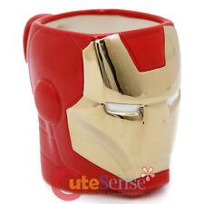 Marvel Heroes Iron Man Ceramic Mug  Coffee Cup 3D Sculpture Molded
