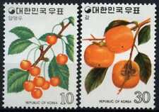 South Korea 1974 SG#1120-1 Fruits MH Set #D60723