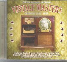 Arizona Ramco CD VINTAGE COUNTRY MASTERS 33 tracks Waylon-Owens-Clark-Bozo & mor