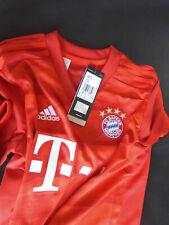 adidas Kinder FC Bayern München Home Trikot 2019/20 in rot G. 152 Neu und OVP