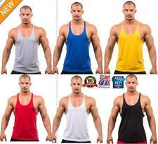 Ärmellose Bodybuilding Herren-T-Shirts aus Baumwolle