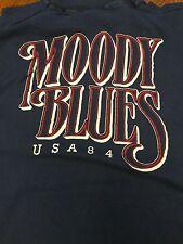 Moody Blues Summer Nights 1984 T-shirt Size M