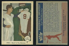 (52782) 1959 Fleer 44 Ted Williams-Back To The Marines Red Sox-EM
