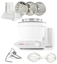 Bosch Universal Plus 800 Watt 6.5 Qt. Kitchen Mixer w/ Large Slicer Shredder NEW