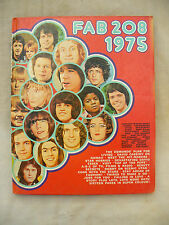 BOOK / ANNUAL FAB 208 1975 excellent un-clipped