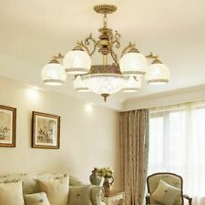 Home Chandelier Fixture Lights Perfect For Living Room Durable Stained Glass New