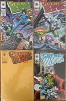 Secret Weapons by Valiant Lot of 4 Issues 9 - 11, 13