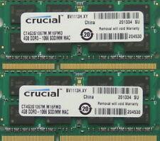 Memoria (RAM) con memoria DDR3 SDRAM de ordenador Crucial