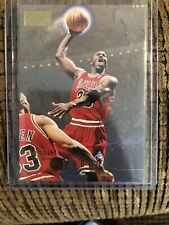 1996-97 SkyBox Premium Basketball Card #16 Michael Jordan Chicago Bulls