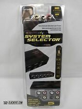 Audio-Visual SYSTEM SELECTOR Hip Gear NEW IN BOX S-Video A/V HUB Up to 5-INPUTS!