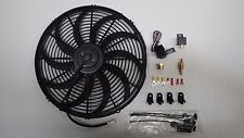 THERMO FAN BLACK 16 INCH REVERSIBLE 250 WATT MOTOR SUPER DUTY INC CONTROLLER