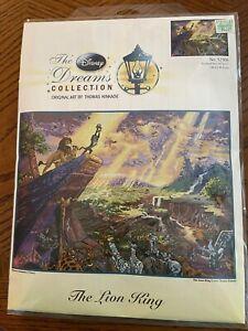 Thomas Kinkade The Disney Dreams Collection Lion King Cross Stitch 52506 16X12