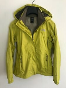 Womens The North Face Jacket / Coat size UK M/L Waterproof Hyvent Green