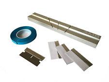 AMB Reel to Reel 1/4 inch Tape Splicing Block+ Splicing Tape + 4 Splice Blades