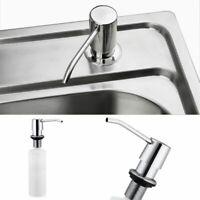 Liquid Soap Dispenser Kitchen Sink Lotion Pump Plastic Bottle For Bathroom Kits