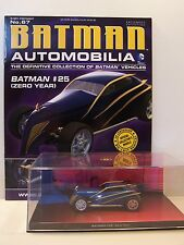 Batman Automobilia Car Collection No 67 Batman 25 Zero Year with magazine.
