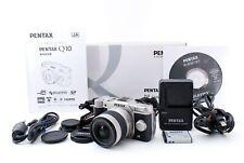 NEAR MINT PENTAX Q10 Digital Camera Silver Body 02 Standard Zoom Kit From JAPAN