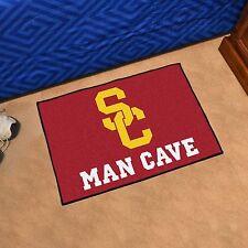 """USC Trojans Man Cave 19"""" X 30"""" Starter Area Rug Mat"""
