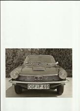 "GLAS 1300 1700 GT PRESS PHOTO   ""SALES BROCHURE"""