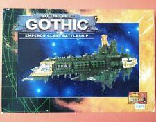 Battlefleet Gothic Emperor Class Battleship Imperial Navy Space Marine METAL NEW