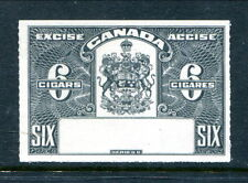 Canada 6 Cigars Excise Proof / SPECIMEN - No Control #  (Lot #RP23)
