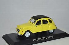 Legendary Cars Auto Die Cast Scala  1:43 - CITROEN 2 CV GIALLA  [MZ]