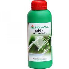 BN Bionova Bio Nova ph- ph down 1lt correzione acqua acque water idroponica g