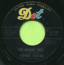 BONNIE GUITAR (Only I / The Kickin' Tree) COUNTRY 45 RPM RECORD