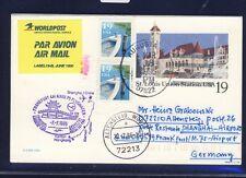 55798) LH FF Frankfurt - Shanghai China 7.7.96, GA Karte ab USA