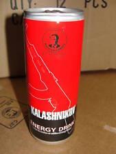 lot de 4 boissons canettes énergétique KALASHNIKOV energy drink 25cl