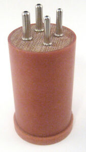 4 Pin Plug in Coil Form: Now available. Handcrafted!!