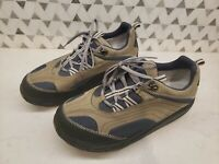 MBT M. Walk Walking Shoes Brown Mesh Leather Fitness Toning Sneakers Mens US 13