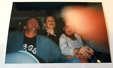 Vintage 90s PHOTO Finger Over Lens 3 Friends Smoking & Having A Good Time