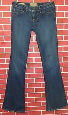 "William Rast ""Belle Flare"" 25 ( 28 X 33 Measured ) ultra low 6.5"" Jeans Flawless"