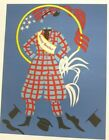 """Robert Indiana JENNY REEFER 1977 Limited Edition Lithograph """"Mother Of Us All"""""""
