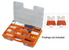 32-IN-1 Dual Sided Storage Box Survival Packs First Aid Organizer Tool Box